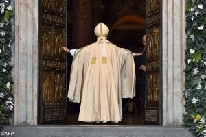 Papa Francisco abriu o ano da misericórdia no último dia 8 de dezembro.